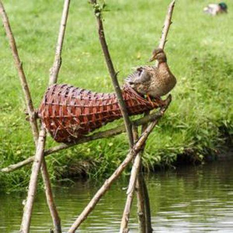 Wild Duck Nesting Basket - Long
