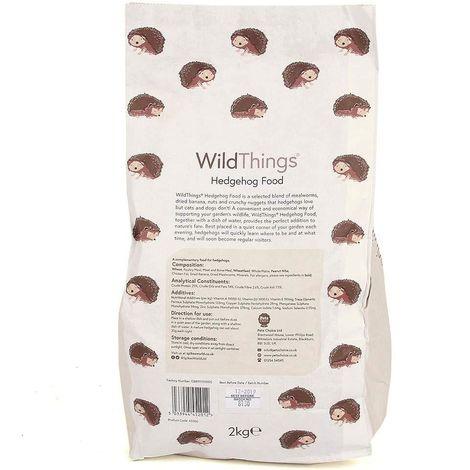 Wild Things Hedgehog Food (2kg) (May Vary)