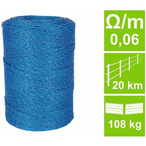 Wildabwehrlitze HQ, blau, 0,06 Ohm/m, 1000 m