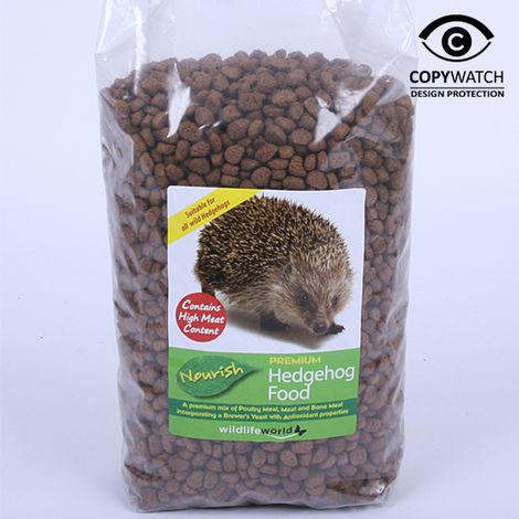 "main image of ""Wildlife World Nourish Hedgehog Food Dry 1kg"""