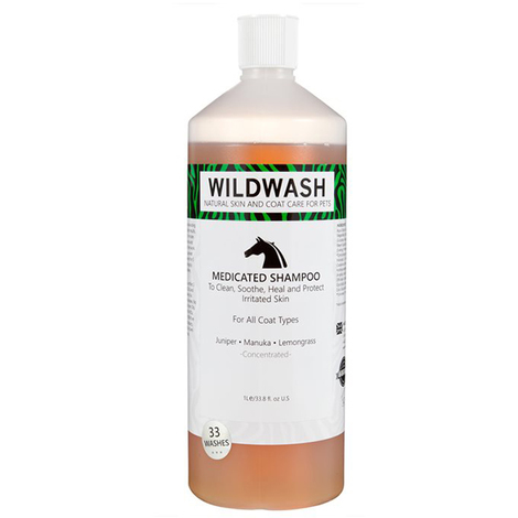 Wildwash Horse Medicated Shampoo 1L