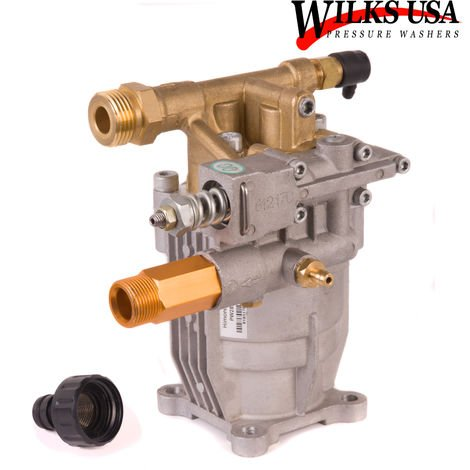 Wilks-USA - Himore Pressure Washer Pump (3700PSI - 4000PSI) for 6.5Hp to 8.5Hp Petrol Engine