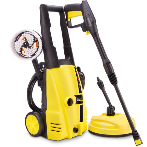 Wilks-USA - RX510 135 Bar, 2400 psi Electric Pressure Washer Car / Patio Power Jet Cleaner
