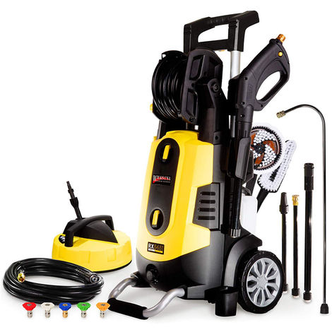 Wilks-USA RX545 - 210 Bar, 3050 psi Electric Pressure Washer / Power Jet with Patio Cleaner