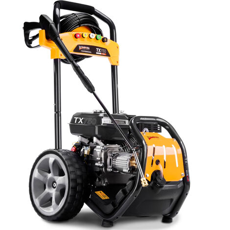 Wilks-USA TX750 - Heavy-Duty Petrol Pressure Washer 3950 psi / 272 bar - Power Jet Cleaner