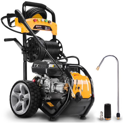 Wilks-USA TX750i - 3950psi / 272bar 8hp Heavy-Duty Petrol Pressure Washer - Power Jet Cleaner
