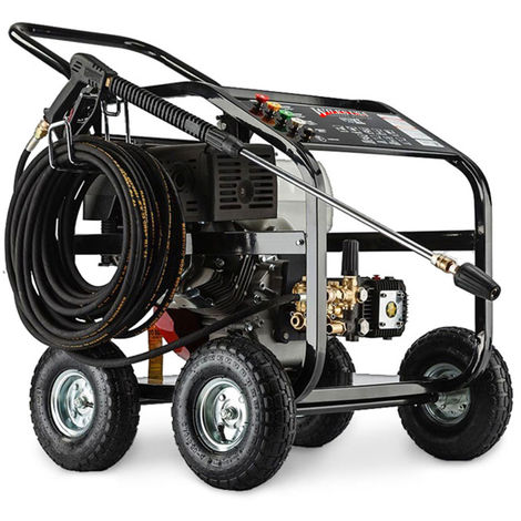 Wilks-USA TX850 - 4800psi / 330bar 15hp Heavy-Duty Petrol Pressure Washer - Power Jet Cleaner
