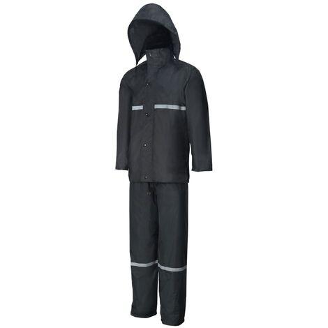 Willex Combinaison de pluie Taille XXL Noir