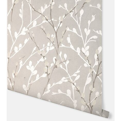 Willow Grey Wallpaper - Arthouse - 692900