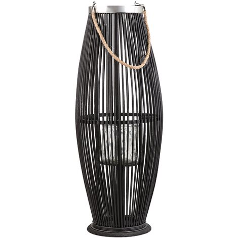 Willow Lantern Black TAHITI