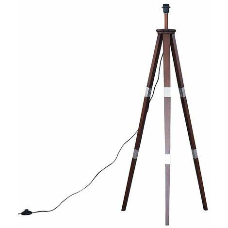 Willow Tripod Floor Lamp Base - Grey