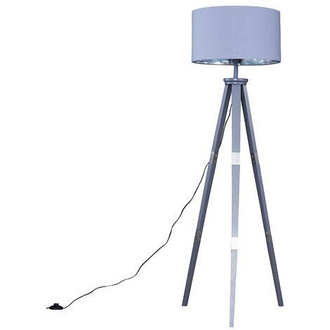Willow Tripod Floor Lamp in Grey