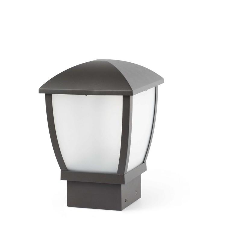 Wilma lampada sopra muro grigio scuro e27 faro 75001 for Faro arredamenti