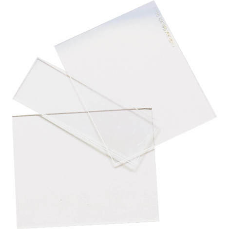 Wilpeg Vorsatzgläser für Schweißerhelme Schutzglas Vorsatzscheibe VPE: 10 Stk.