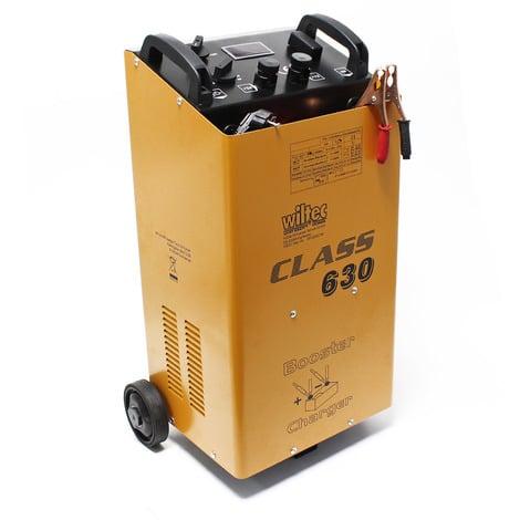 WilTec cargador baterías dispositivo carga arrancador 12V 24V Boost 630 motos coches camiones