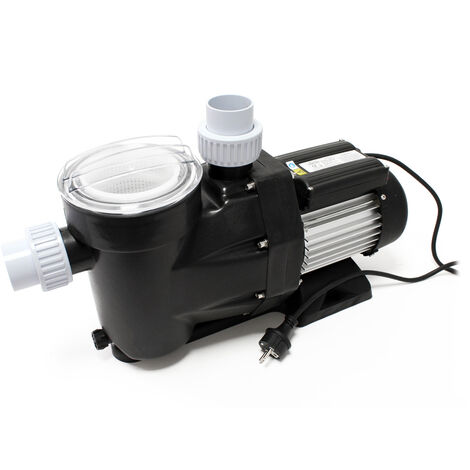 WilTec Circulation Pump 28800l/h 1300W Swimming Pool Water Filter