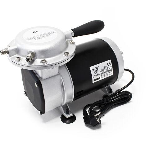 WilTec Pompe à dépression - Pompe à vide 128-135 l/min AS29