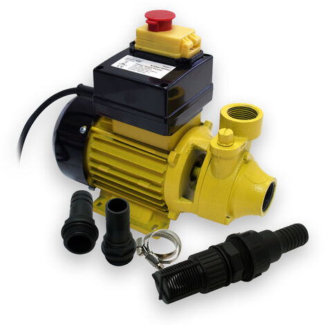 WilTec Pompe à Fuel Gasoil bio 230VAC 600W pour 2400L/h