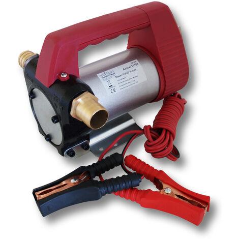 WilTec Pompe � Fuel ou Gasoil bio Autoaspirante 12V/160W 40l/min Mobile