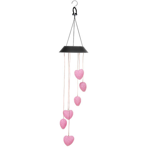 Wind Chimes Solar Powered LED Hanging Light