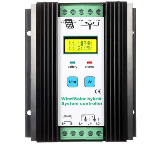 Wind Solar Hybrid System Controller