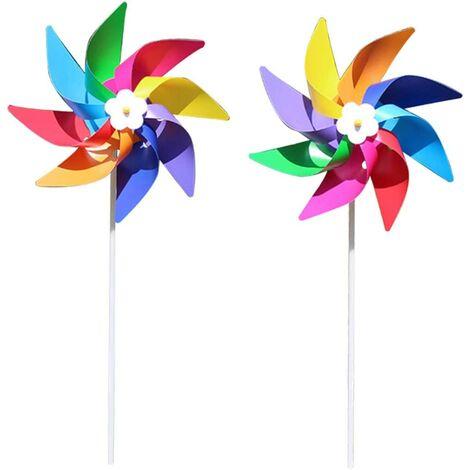 Windmill Children's Toy Outdoor Decoration Garden Plantations (6 #)
