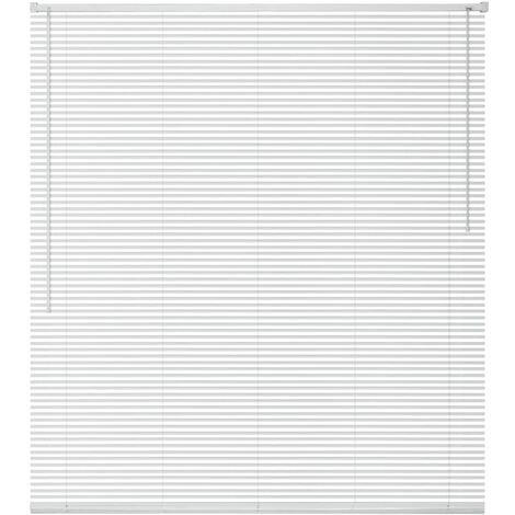 Window Blinds Aluminium 100x160 cm White