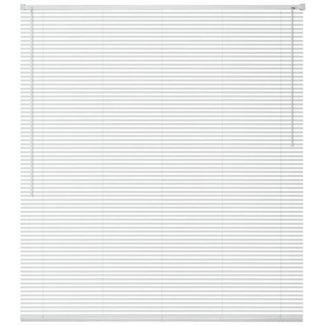 Window Blinds Aluminium 120x130 cm White