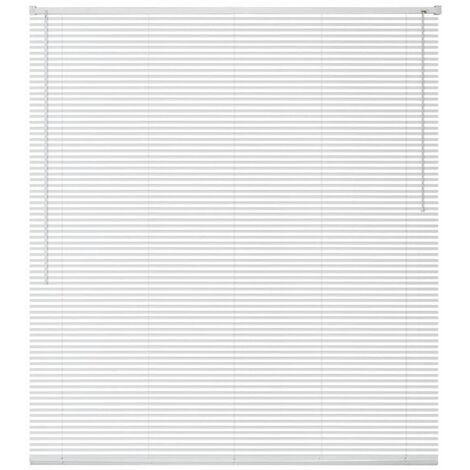 Window Blinds Aluminium 140x130 cm White