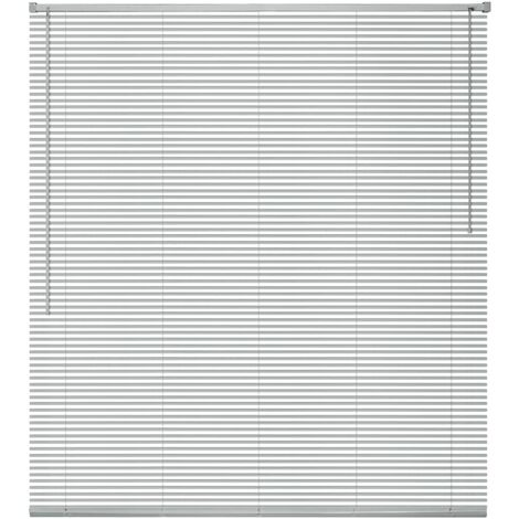 Window Blinds Aluminium 140x220 cm Silver