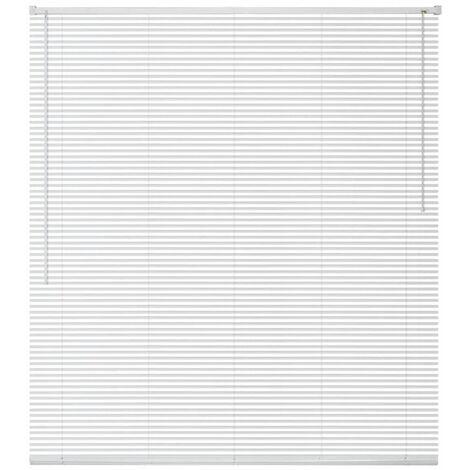 Window Blinds Aluminium 140x220 cm White