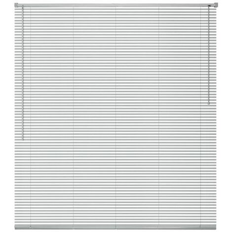 Window Blinds Aluminium 60x160 cm Silver