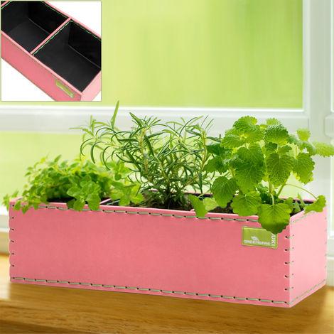Window Planting Boxes Pot Balcony Patio Terrace Conservatory Herbs Pot Flowers