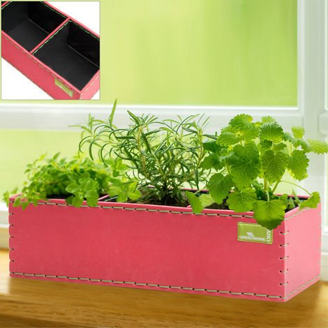 Window Planting Boxes Pot Balcony Patio Terrace Conservatory Herbs Pot Flowers