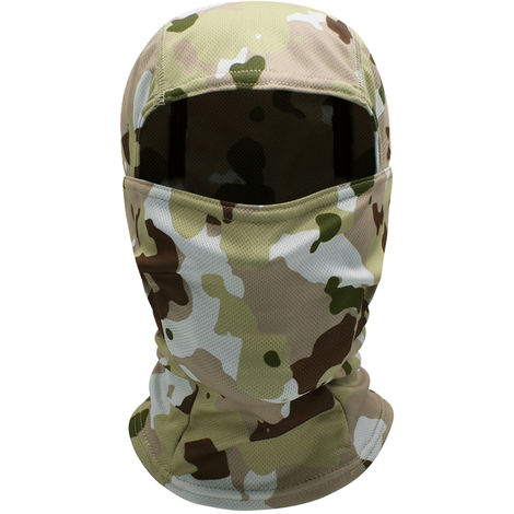 Windproof Full Face Mask Balaclava Hood Hunting Cycling Motorcycle Helmet Liner Headwear