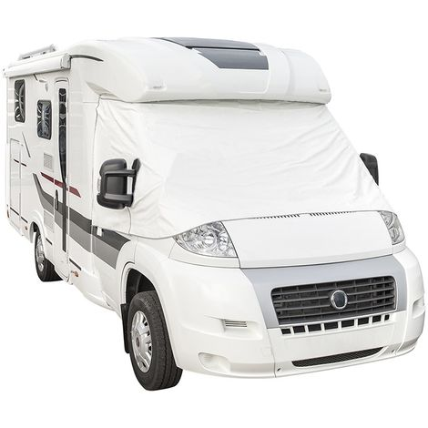 Windscreen cover white for motorhome for Fiat Ducato from 2006