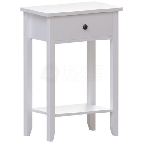 Windsor 1 Drawer Console Table, White
