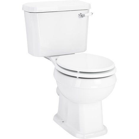 Windsor Close Coupled Toilet with Soft Close Seat
