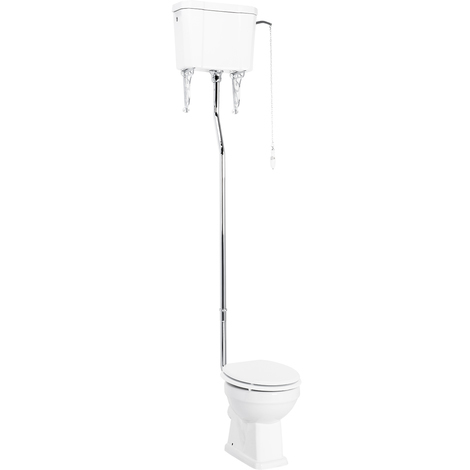 Windsor High Level WC inc Soft Close Seat