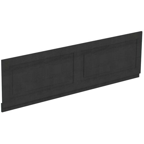 Windsor Traditional Dark Grey 1800mm Front Bath Panel with Plinth