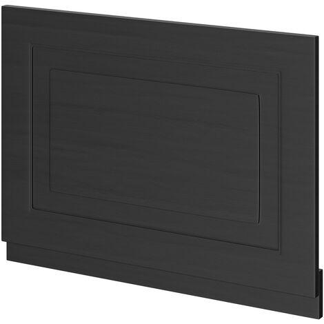 Windsor Traditional Dark Grey 700mm End Bath Panel with Plinth