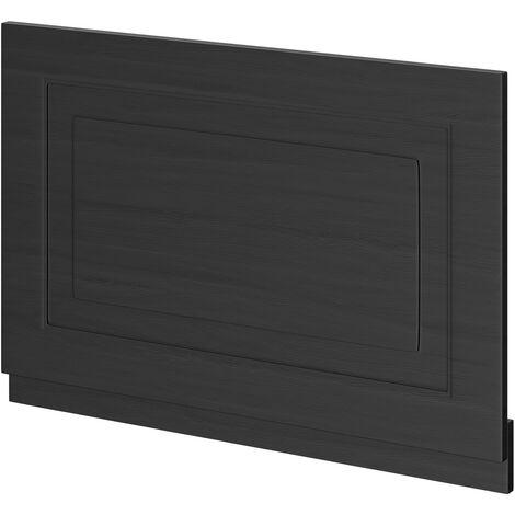 Windsor Traditional Dark Grey 750mm End Bath Panel with Plinth