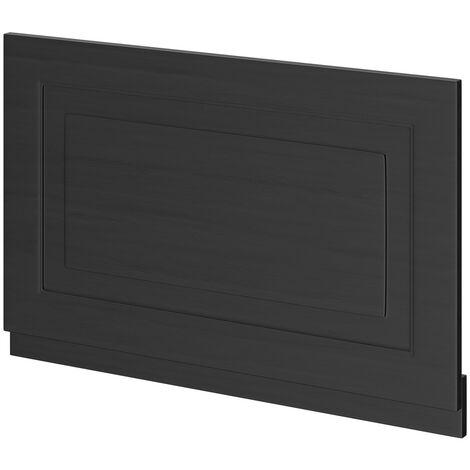 Windsor Traditional Dark Grey 800mm End Bath Panel with Plinth