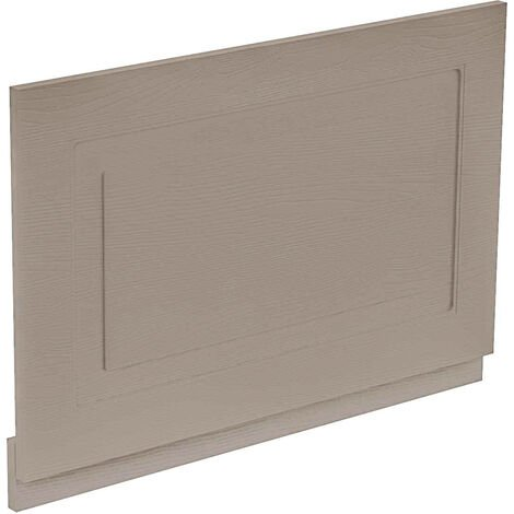 Windsor Traditional Grey 750 End Bath Panel & Plinth
