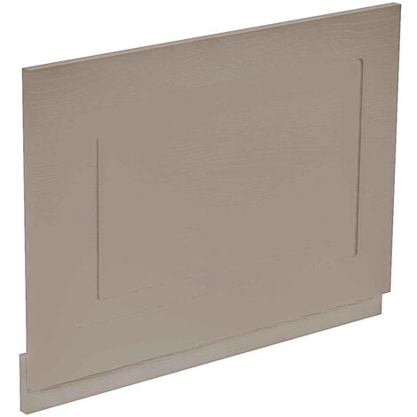 Windsor Traditional Stone Grey 700mm End Bath Panel with Plinth
