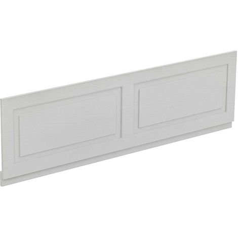 Windsor Traditional White 1800mm Front Bath Panel with Plinth
