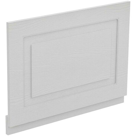 Windsor Traditional White 700mm End Bath Panel with Plinth