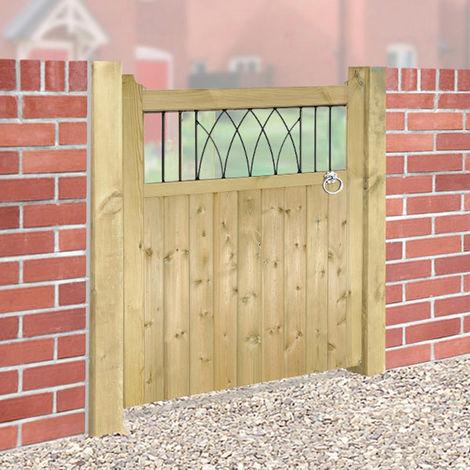 Windsor Wooden Single Gate 90cm Wide x 120cm High