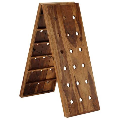 Wine Rack for 36 Bottles Solid Sheesham Wood