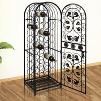 Wine Rack for 45 Bottles Metal